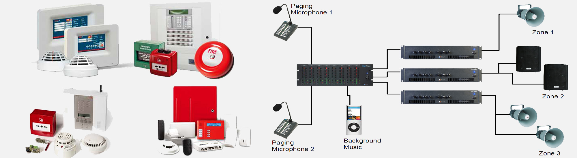 Fire Alarm and PA Systems